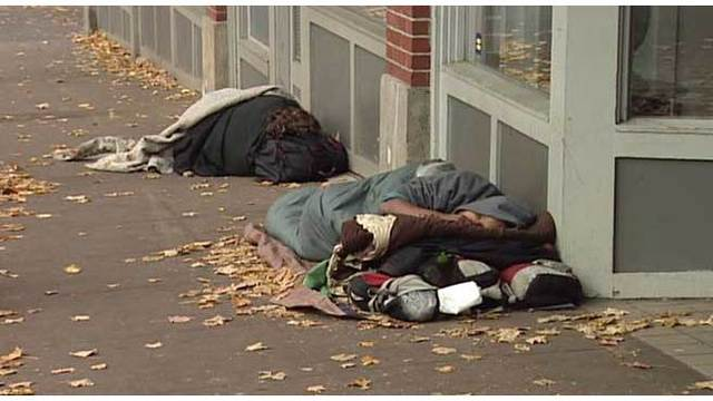 Oregon ranks 2nd in US for unsheltered homeless, feds say
