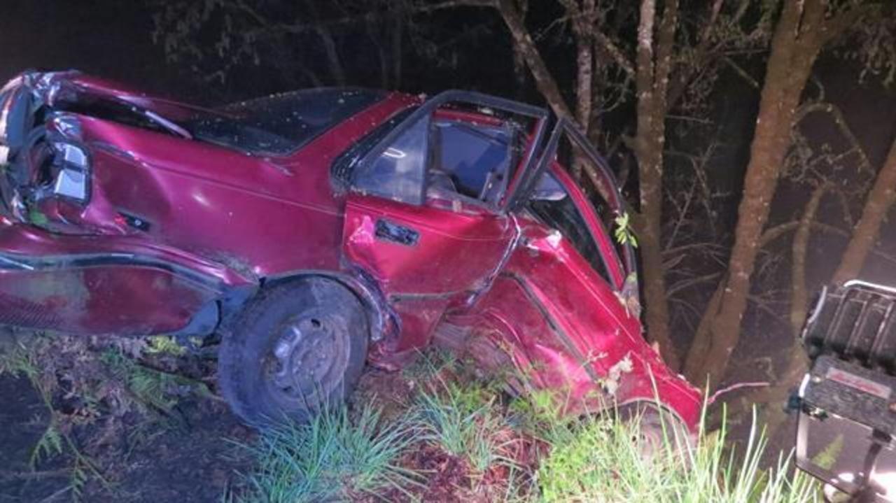 Driver, 18, dies after hitting tree off Hwy 38