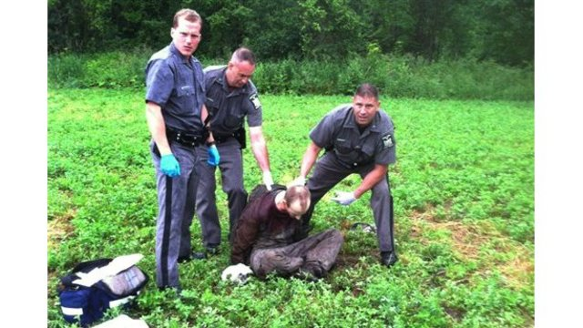 2nd escaped NY murderer shot, caught
