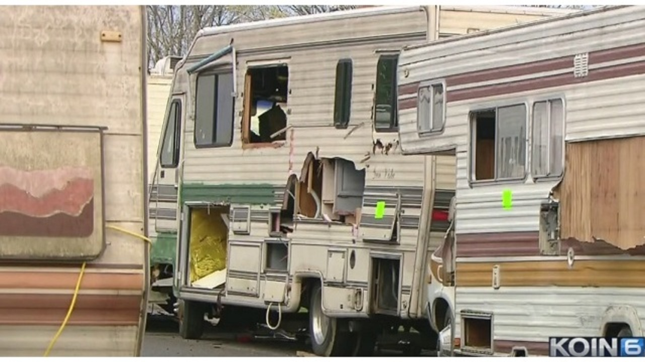 Portland 'overwhelmed' with abandoned RVs