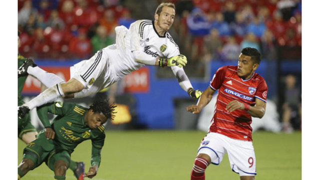 Akindele's goal earns Dallas draw with Portland
