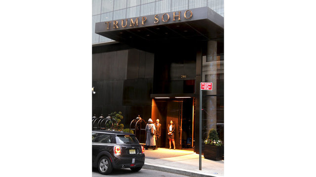 Business sagging, Trump SoHo to shed 'Trump'