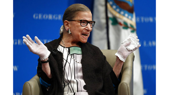 Justice Ginsburg signals she won't retire soon