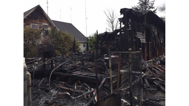 Seaside man loses home to second fire in one day