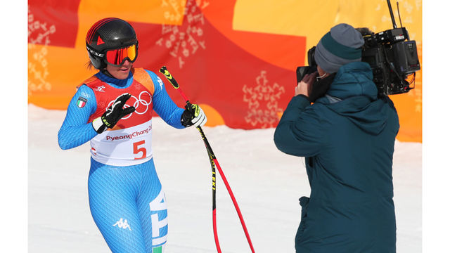 Photos: Vonn takes bronze in likely final downhill race