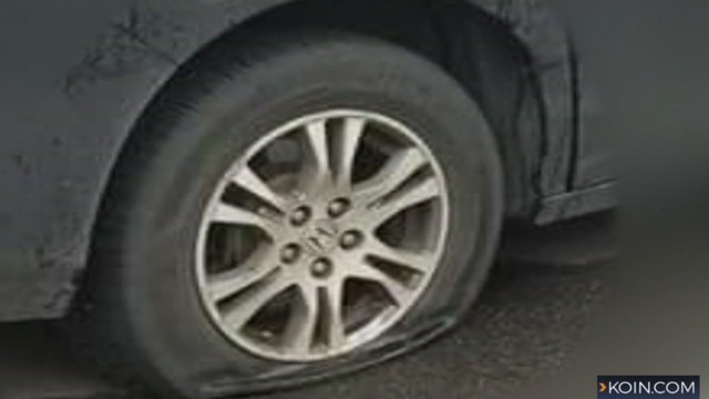 Up To 50 Cars Found With Slashed Tires In Vancouver