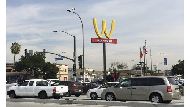 McDonald's flips Golden Arches for Women's Day