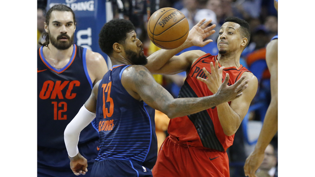 Trail Blazers beat OKC 108-105, now lead Thunder by 2 games