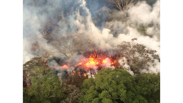 Hawaii volcano erupts from summit, shooting plume of ash