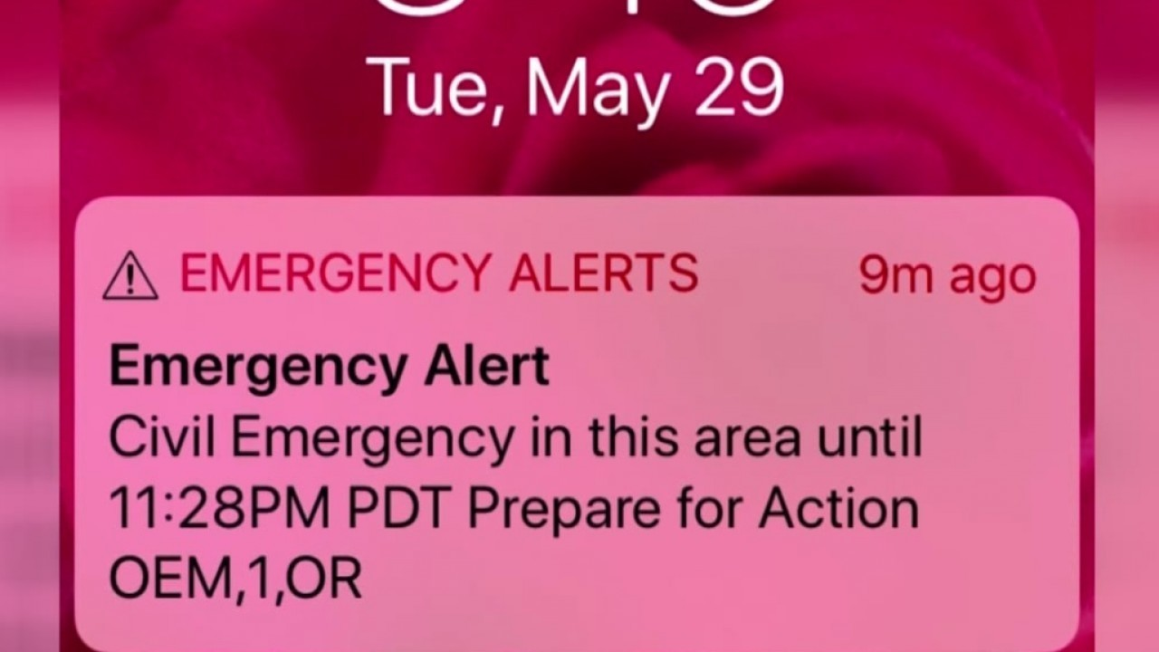 Office of Emergency Management admits alert mistake