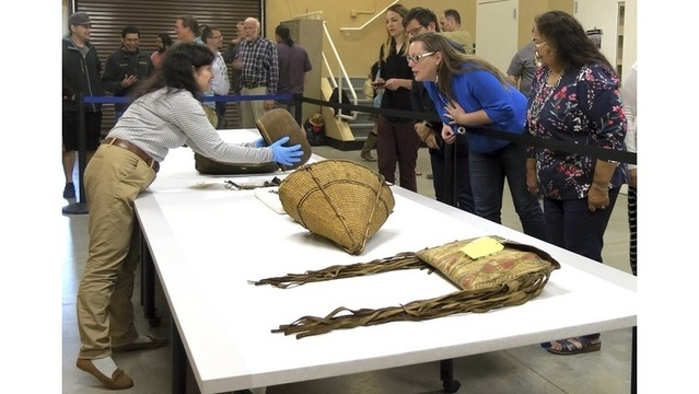Oregon tribe regains artifacts for 1-year show