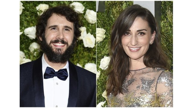 Groban, Bareilles rely on each other for Tony gig