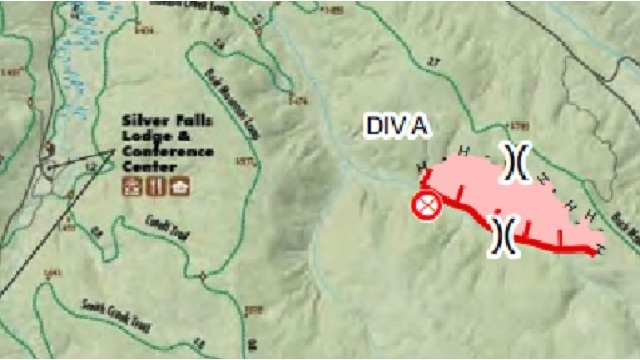 Silver Creek Fire 27 Acres 25 Contained