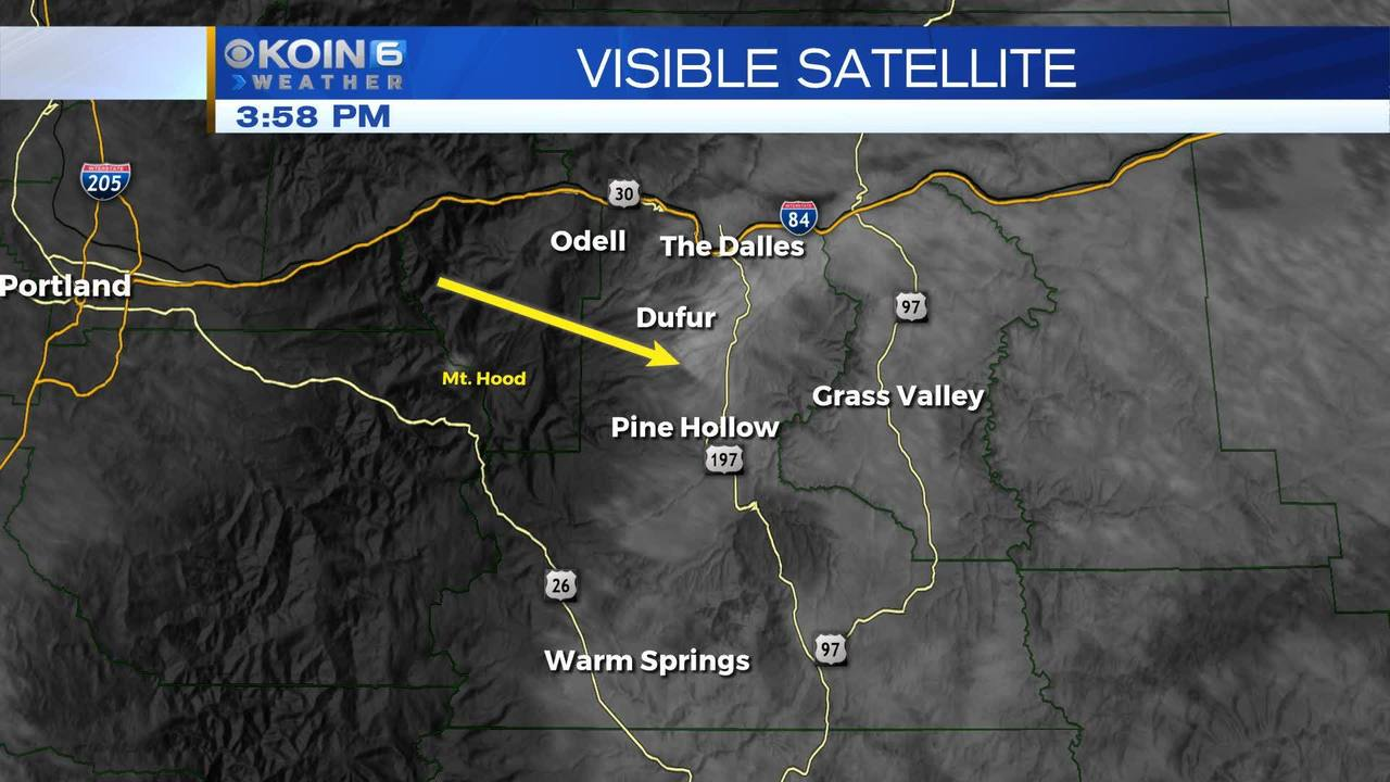 Visible Satellite Map Of Fire