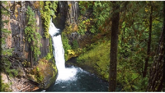 Hiker's body found at Toketee Falls month after fall
