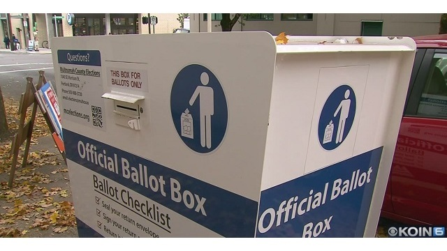 Oregon had 2nd-highest number of votes cast in state history