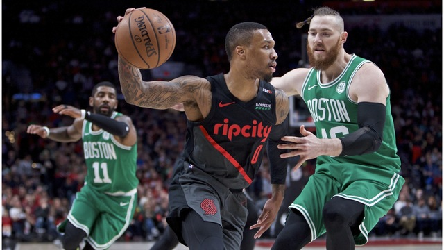 Celtics Trail Blazers Basketball_1541997853905