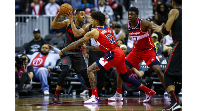 Trail Blazers Wizards Basketball_1542593506332