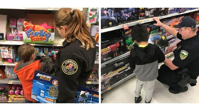 Shop with a Cop makes holidays memorable for kids