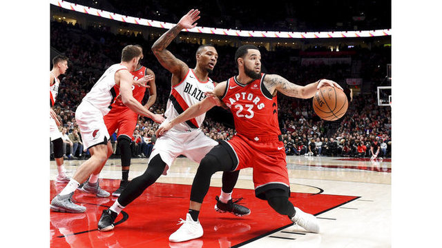 Raptors Trail Blazers Basketball_1544854371356
