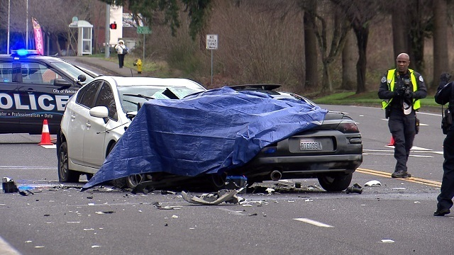 Driver killed in Vancouver head-on crash