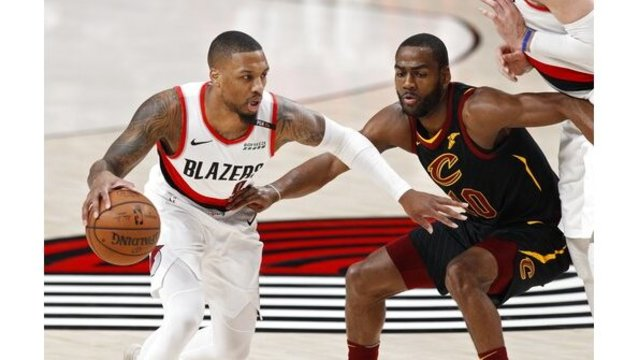 Cavaliers Trail Blazers Basketball_1547703995609