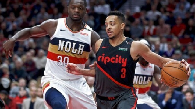 Pelicans Trail Blazers Basketball_1547880024035