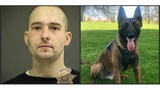 Driver sought for dragging officer sniffed out by K9