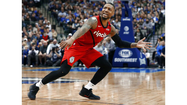 Trail Blazers Mavericks Basketball_1549839077032