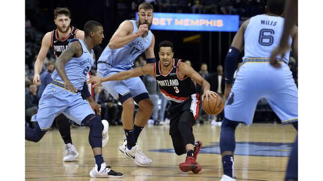 Trail Blazers Grizzlies Basketball_1551853712413