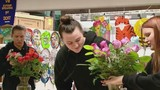 Battle Ground HS students learn floral design