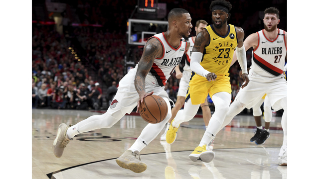Pacers Trail Blazers Basketball_1552975532095