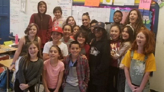 Beach students honor Chief Outlaw for Black History Month