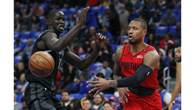 Trail Blazers Pistons Basketball_1553997887889