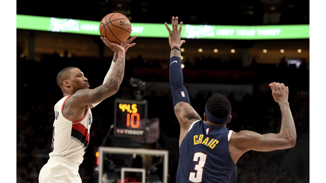 Nuggets Trail Blazers Basketball_1554695812162