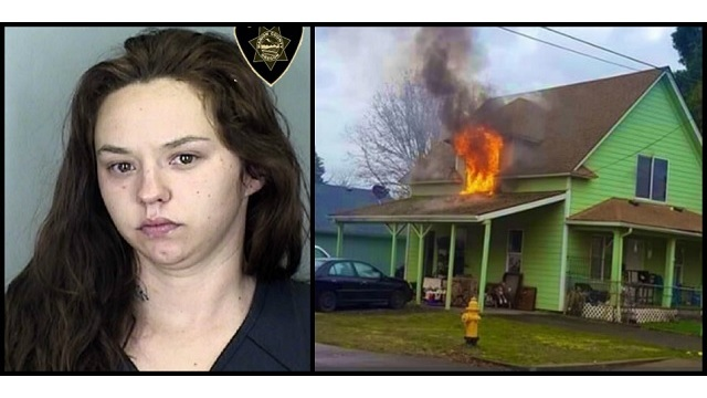 Woman charged in Stayton fire that killed toddler