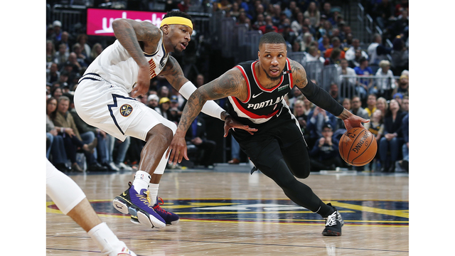 Trail Blazers Nuggets Basketball_1556601668594