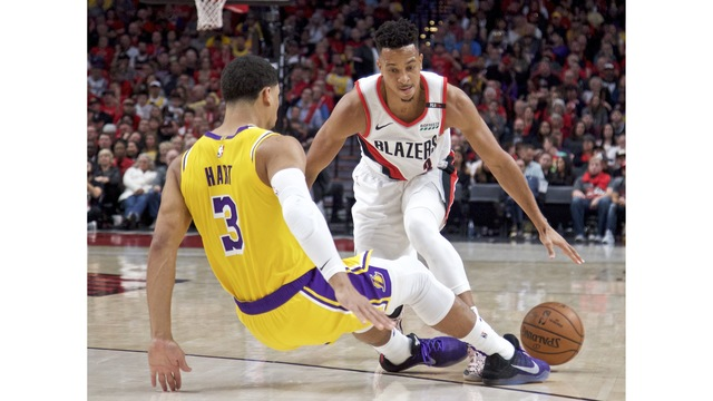 Lakers Trail Blazers Basketball_1557777570202