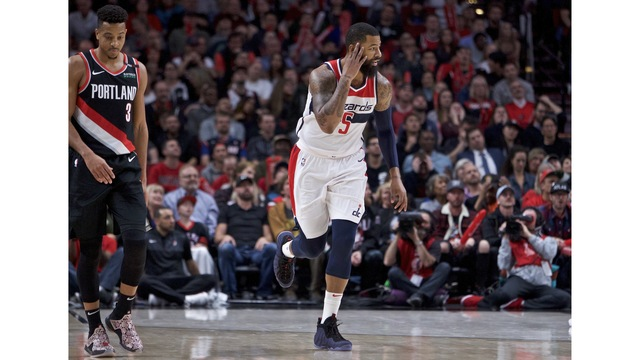 Trail Blazers against Washington Wizards, Oct. 22