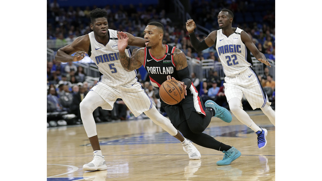 Trail Blazers at Orlando Magic, Oct. 25