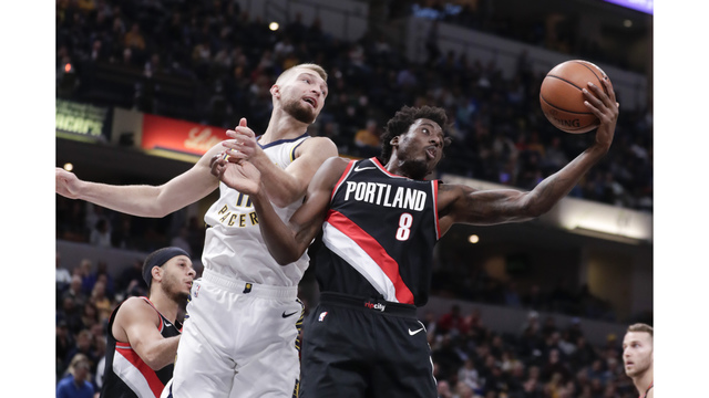 Trail Blazers at Indiana Pacers, Oct. 29