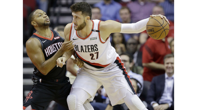 Trail Blazers at Houston Rockets, Oct. 30