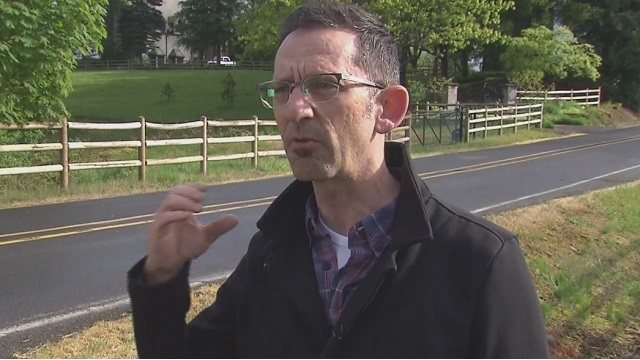 Cyclist claims driver hunted, harassed him on rural road