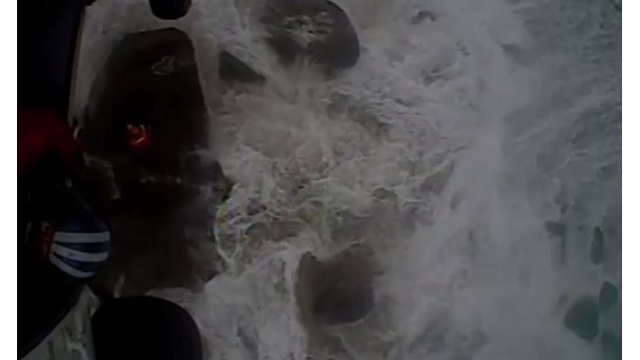 Two trapped by high tide rescued at Ecola State Park