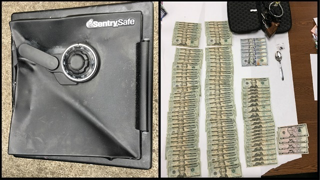 Broken safe in Dallas dumpster leads to 4 arrests